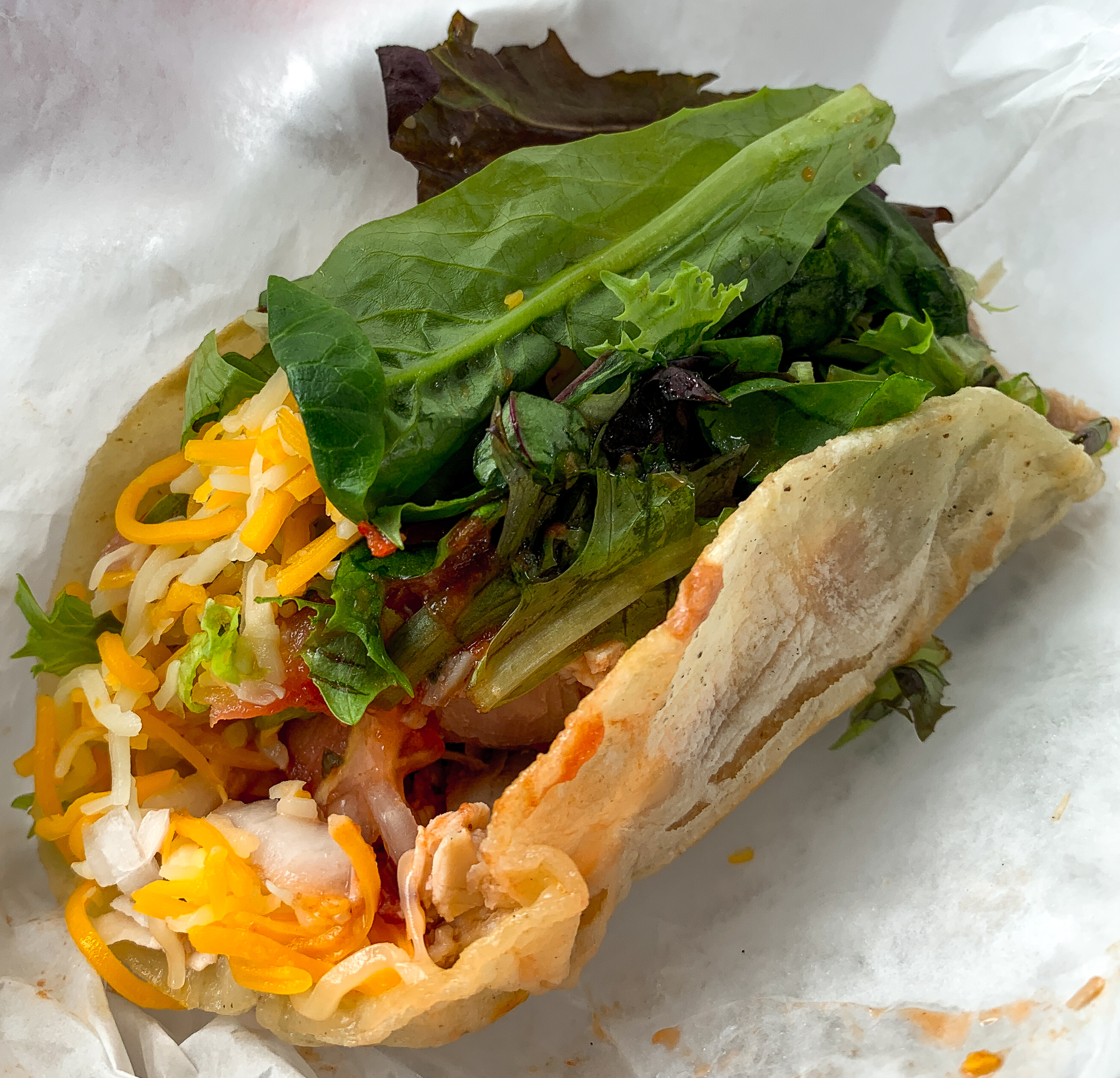 Loreto's Turkey Taco. Photo by Jay Keyes.